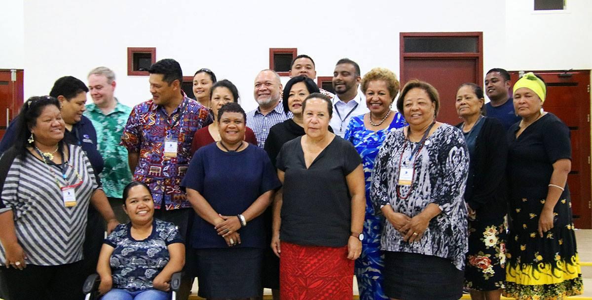 Regional CSO representatives at 2018 FEMM