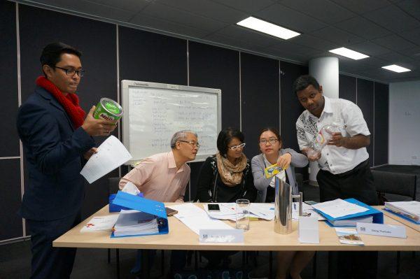 Participants at the McCabe Centre workshop