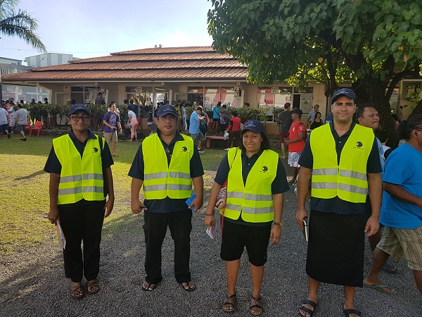 Forum Election Observer Team in French Polynesia