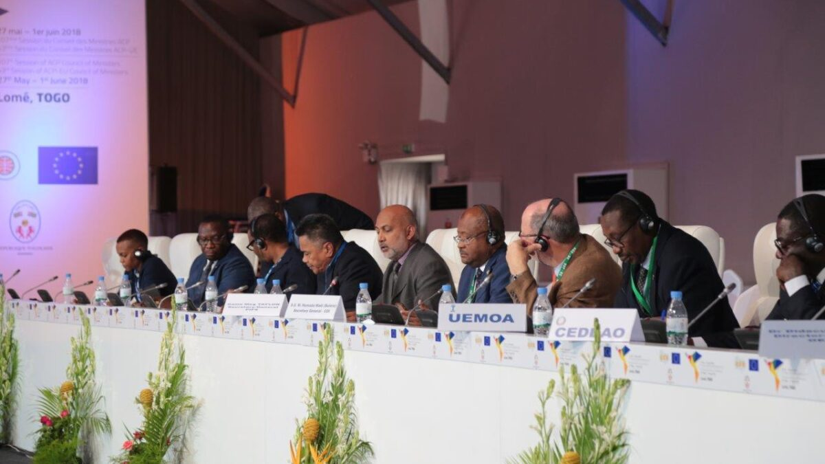 Representing the Pacific region at the Inter-Agency Consultation with Regional and Continental Organisations