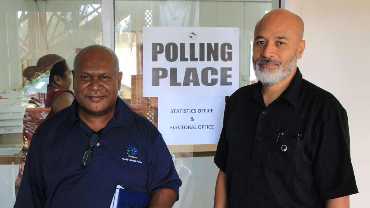Forum Election Observer Team in the Cook Islands
