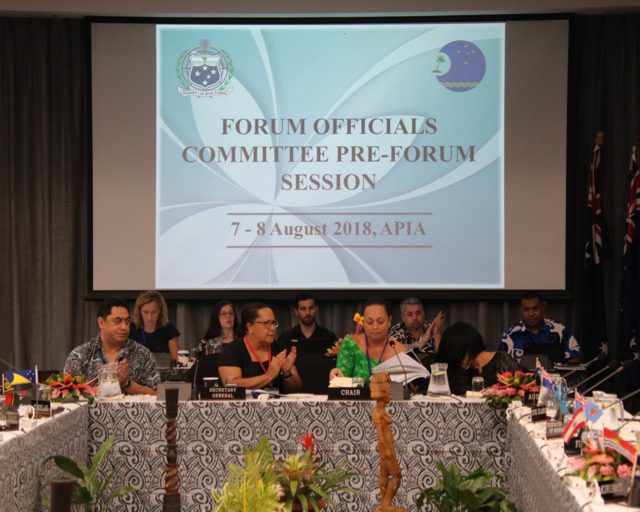 2018 Forum Officials Committee