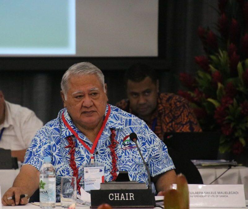 PM Samoa at FFMM