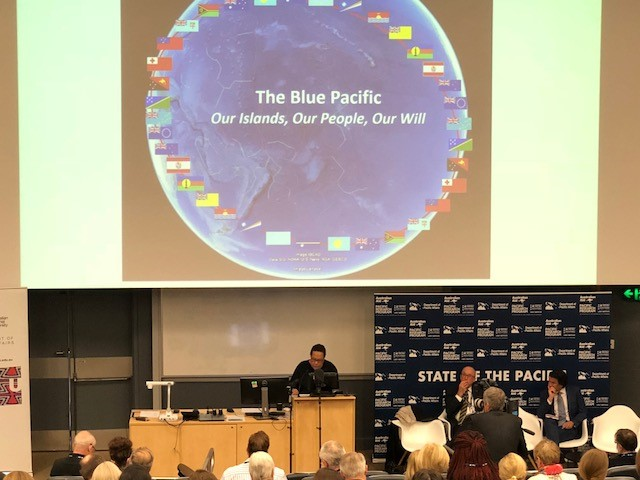 SG at ANU State of Pacific