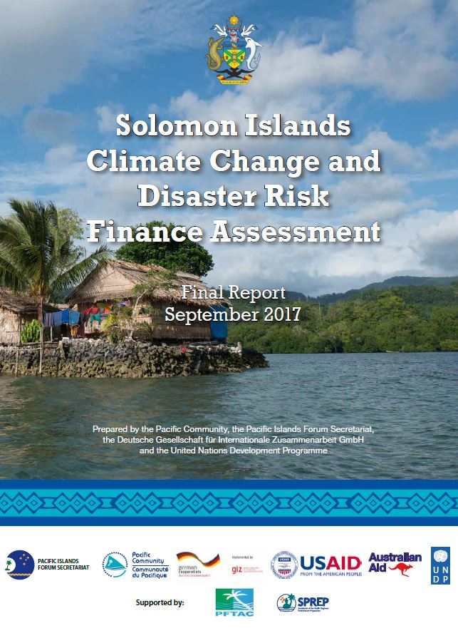 Solomon Islands Climate Change and Disaster Risk Finance
