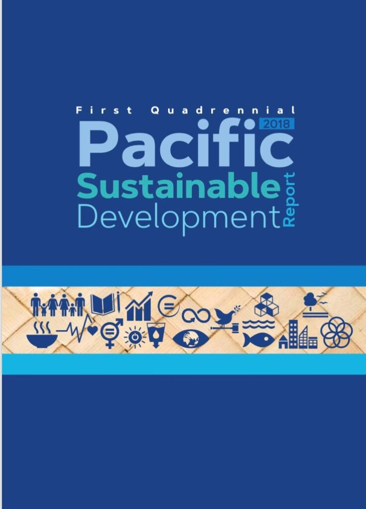 Pacific Sustainable Development Report 2018 Cover