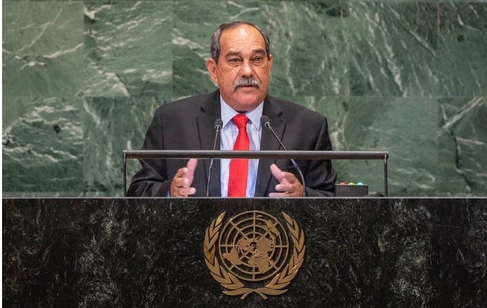 President Christian of the Federated States of Micronesia
