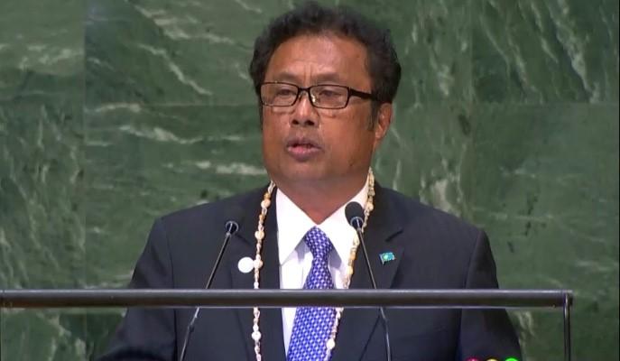 Palau President H.E Tommy Remengesau Jr
