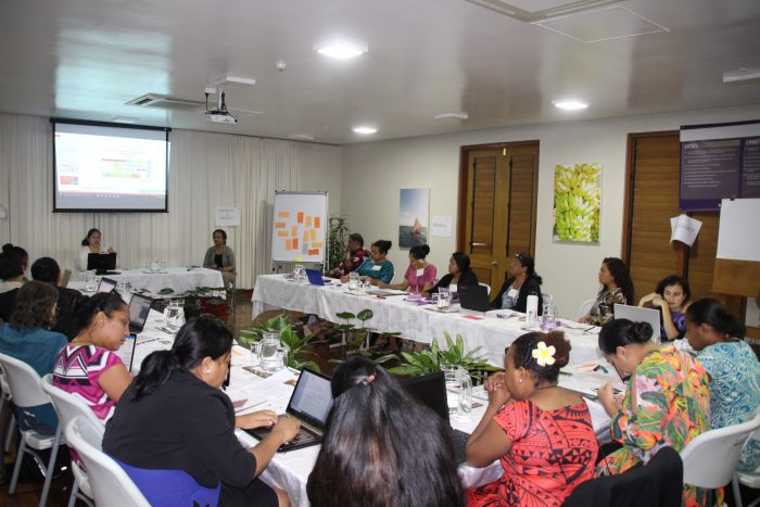 women climate negotiation workshop