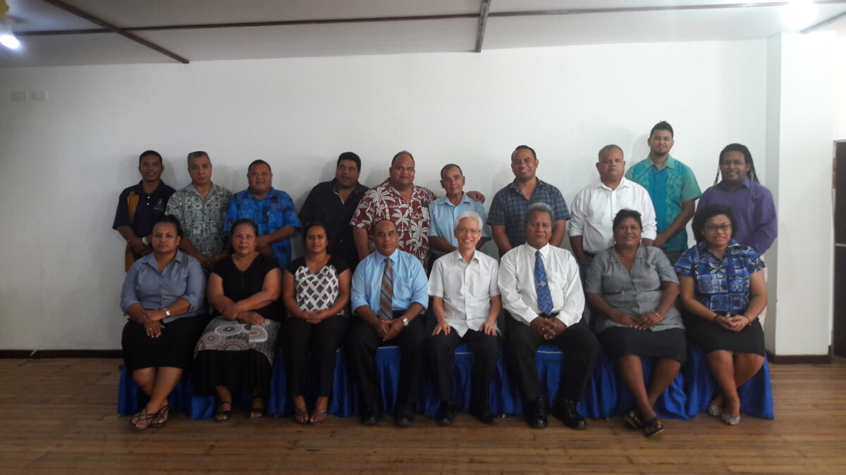 Nauru Green Climate Fund Workshop Team