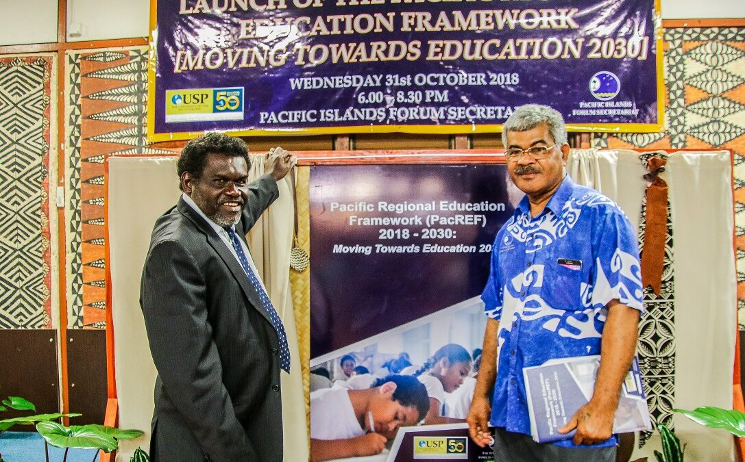 Launching the Pacific Regional Education Framework