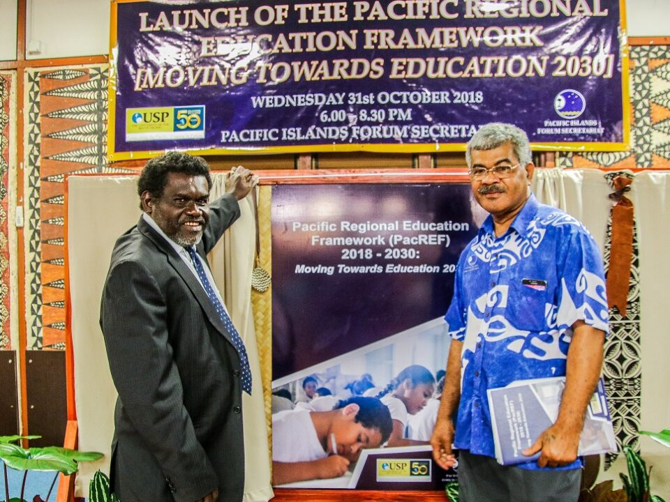 Launching the Pacific Regional Education Framework