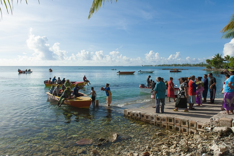 Tuvalu waterfront