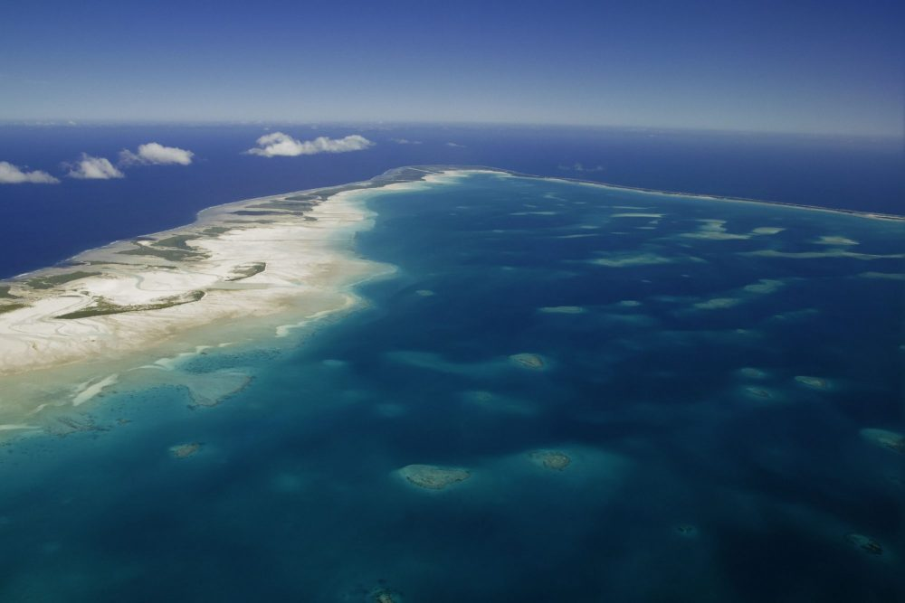 kiribati oceanscape