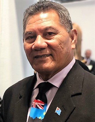 Chair of the Pacific Islands Forum and Prime Minister of Tuvalu, Hon. Kausea Natano.