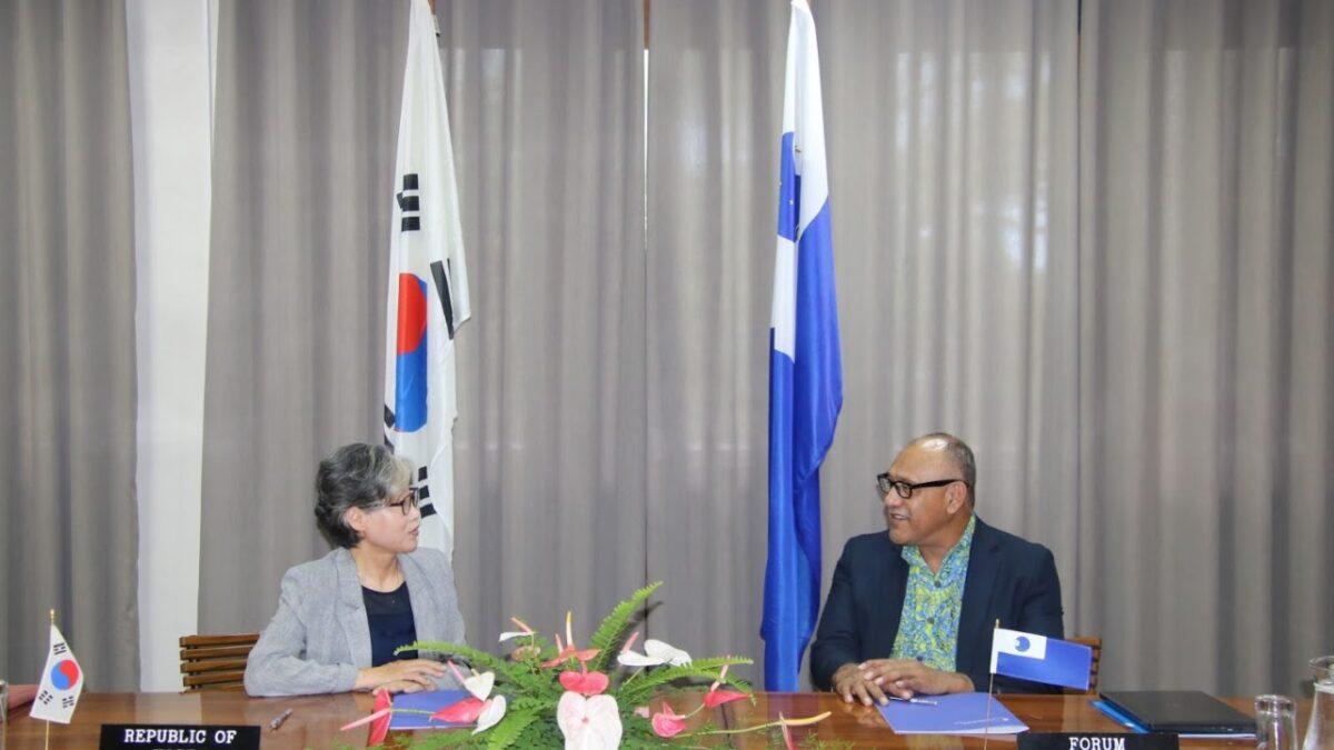 PIF-ROK signing, Oct 2020