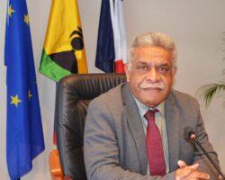H. E Louis Mapou - Govt NC
